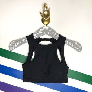 NEW Allihop cutout high neck bikini top